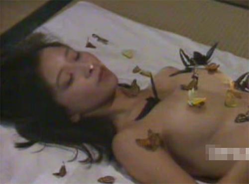 日活ロマンポルノ 大場久美子の濡れ場全裸オナニー動画